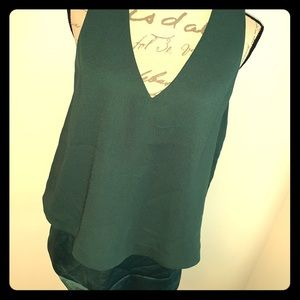 🎄Banana Republic V-Neck Open Back Top🎄